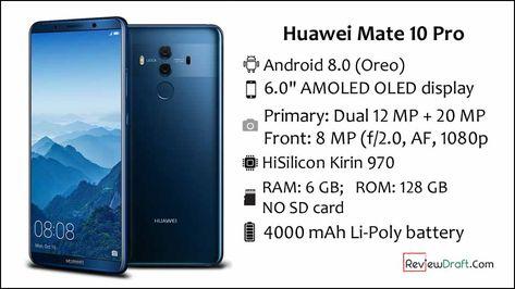 Huawei Mate 10 Pro Price In Bangladesh Full Specification Huawei Mate Huawei Samsung Galaxy Phone