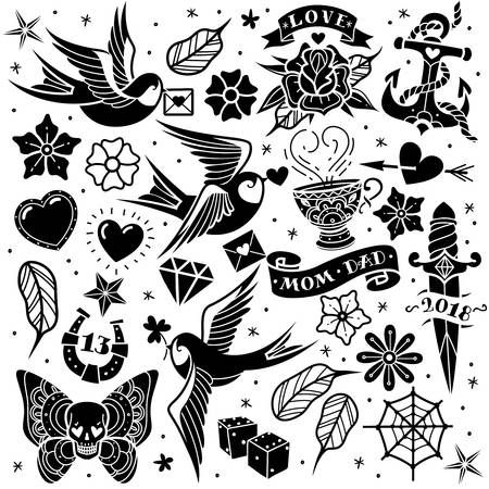 35+ Tattoo Clipart Black And White