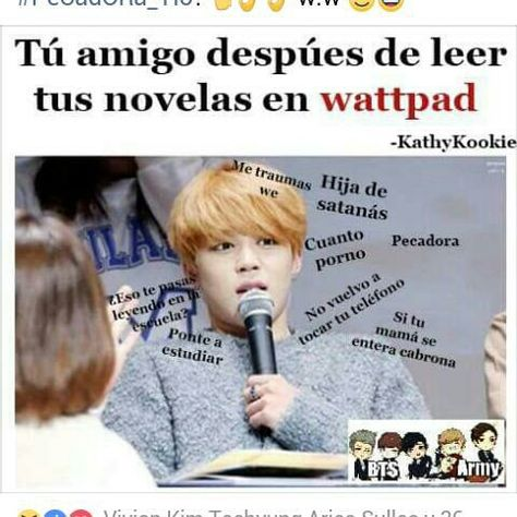 Read 18 from the story MEMES BTS by carrascomariafe with reads.