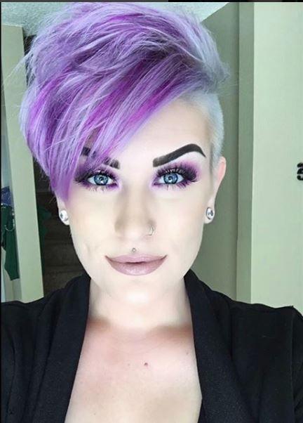 22x Super Ordentlich Farbige Frisuren Kurzhaarfrisuren Frauen Com