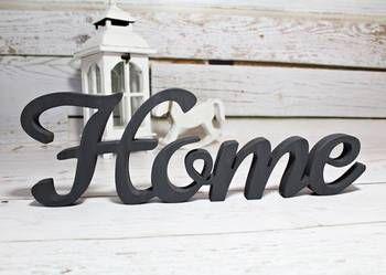 Duzy Napis Drewniany Home Litery 3d Dekor 47x15cm Decor Home Decor Home