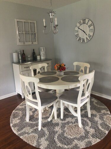 Harley Solid Wood Dining Table Apartment Dining Room Small Dining Room Decor Kitchen Dining Room Combo