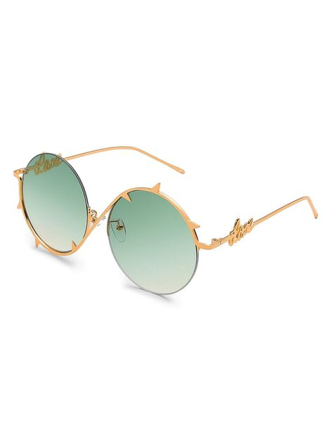 75ce14d0c4f Steampunk Funk Flip Up Round Metal Unisex Sunglasses Gold Frame Grey Lens