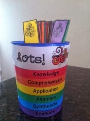 Classroom Freebies: Higher Order Thinking Cards