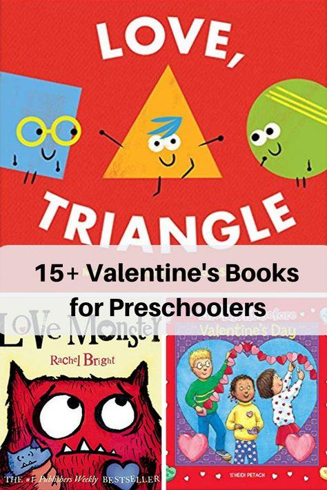 15+ Valentine's Books for Preschoolers