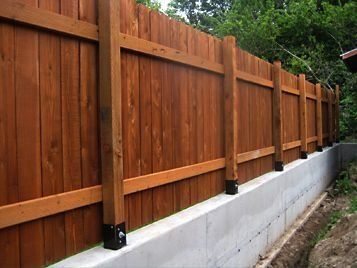 13 Magnificent Bamboo Fencing Ideas 1000 In 2020 Concrete Fence Concrete Fence Posts Fence Design
