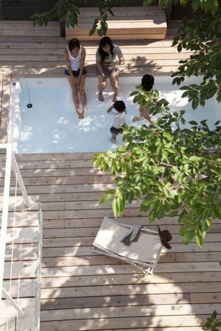 暑 い夏に ひんやり 涼やか プールのある家のアイデア5選 庭