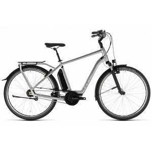 Cube Town Hybrid Sl 500 2019 Electric Hybrid Bike Silver 54cm Hybrid Bike Bike Cube