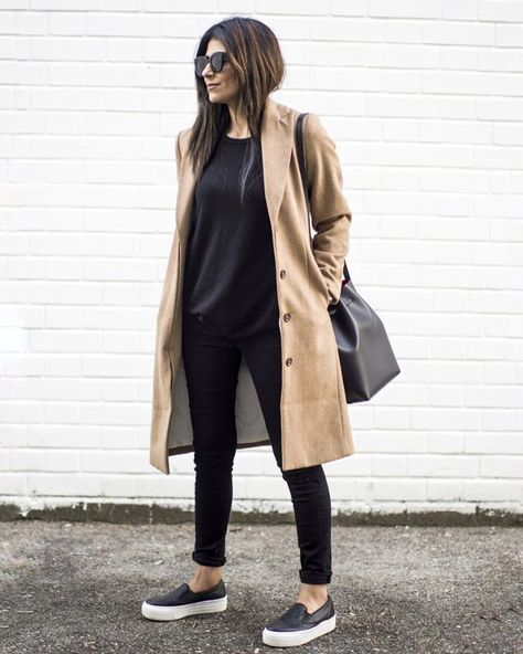 Minimal chic street fashion Business casual outfits Perfect simple style for work & play Classy minimalist style Scandinavian style Monochromatic style Casual chic Effortless Cool Chic Looks Street