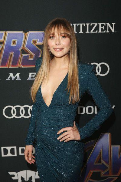 Elizabeth Olsen Photos Photos Los Angeles World Premiere Of Marvel Studios Avengers Endgame Elizabeth Olsen Elizabeth Olsen Scarlet Witch Olsen