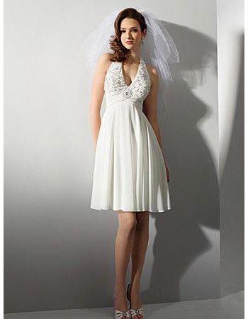 Informal Short Second Wedding Dresses