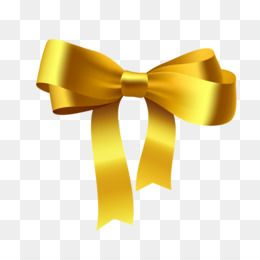 Gold Ribbon Ribbon Bow Bow Drawing Curved Arrow Cute Arrow