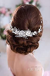 Hochzeit Braut Vintage Stirnband Kopfschmuck Perle Braut Haarschmuck