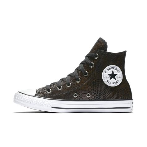 Converse Chuck Taylor All Star Fashion Snake Leather High