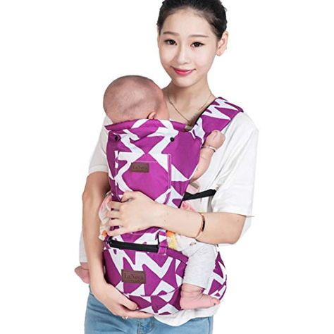 100/% Cotton Bebamour Baby Doll Carrier for Girls Grey with Animal 3 in 1 Baby Carrier Sling for Kids