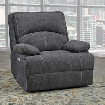 Pin by Lindsay Klein on Living Room | Grey recliner, Power ...