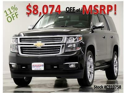 Ebay Advertisement 2019 Chevrolet Tahoe Msrp 75925 Premier 4x4 Black 5 3l V8 Sunroof 2019 Chevrolet Tahoe Premi Chevrolet Tahoe Chevrolet Student Incentives