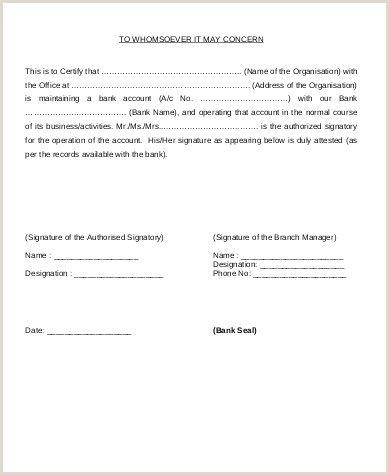 Bank Account Verification Letter Sample Account Verification