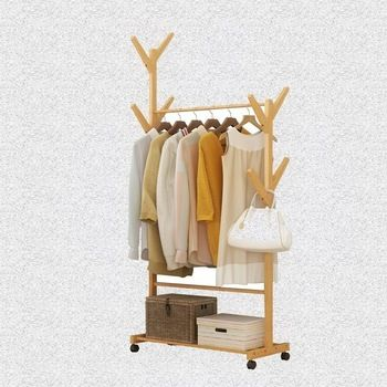 Home Floor To Ceiling Hanger Mini Practical Fresh Simple Children S Bedroom Small Convenient Clothes Rack Small High Cx In 2020 Ceiling Hangers Kids Furniture Flooring