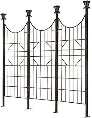Amazon Com H Potter Large Iron Garden Trellis For Climbing