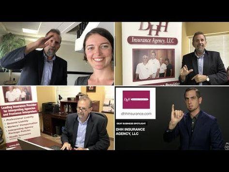 Deaf Business Spotlight Dhh Insurance Agency Llc Youtube
