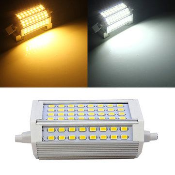 16 31 Usd R7s 30w 3000lm 118mm 64 Smd5730 Warm White White Led Light Bulb 85 265v Warm White Led Light Bulb Led Lights