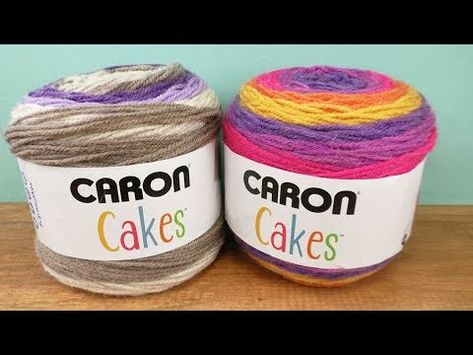 Häkeln Mit Caron Cake Wolle Einfache Schal Anleitung Für Anfänger
