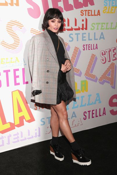 Vanessa Hudgens attends Stella McCartney's Autumn 2018 Collection Launch.