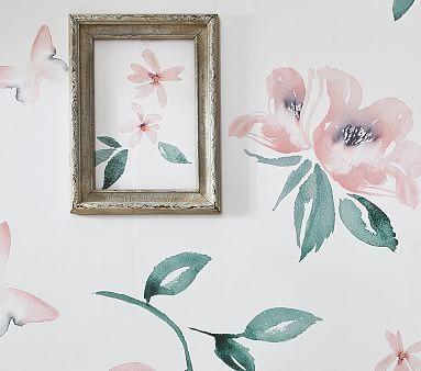 Meredith Rose Peel Stick Wallpaper Peel And Stick Wallpaper Girls Room Wallpaper Nursery Wall Decals