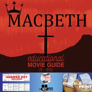 This Macbeth Movie Guide Questions Worksheet R 2015 Takes Shakespeare S Early 17th Century Traged Movie Guide Question Worksheet How To Memorize Things