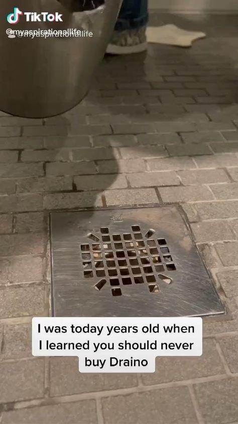 How to clean a drain