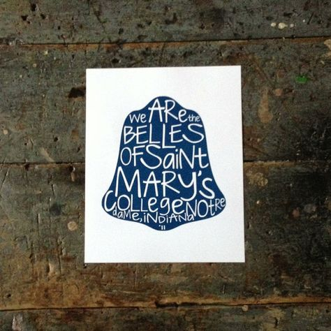 Belles of Saint Mary's by sbdesignandprint on Etsy, $15.00
