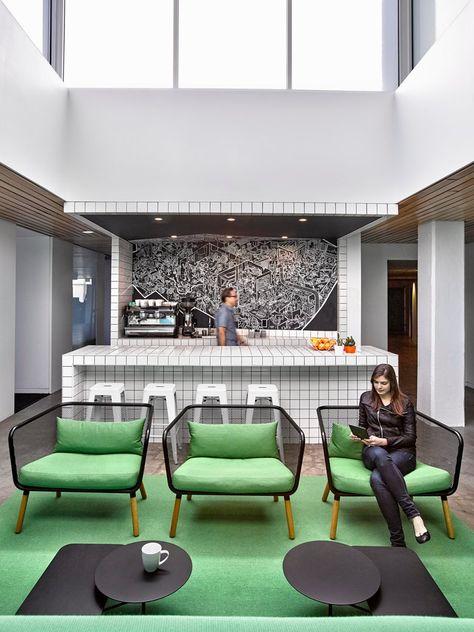 Barrows New York 2016 Ghislaine Vinas Interior Design With Images Interior Design Office Interior Design Office Interiors