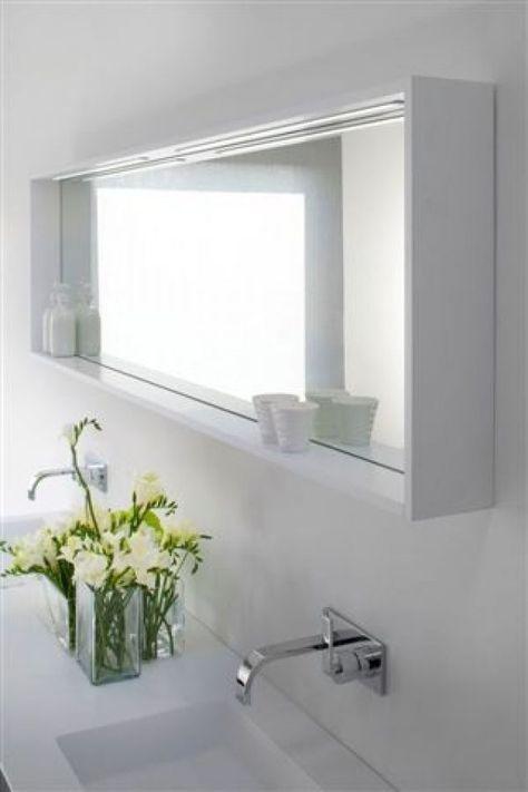 Bathroom Mirror Shelf Mirror With Shelf For Bathroom