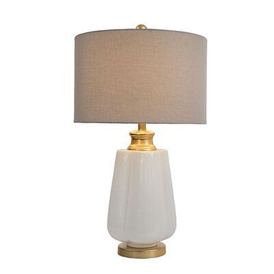 Brycen 27 White Gold Table Lamp In 2021 Table Lamp Gold Table Lamp Lamp