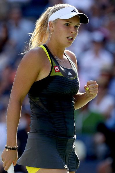 More Pics Of Caroline Wozniacki Ponytail Tennis Outfit Women Caroline Wozniacki Athletic Women