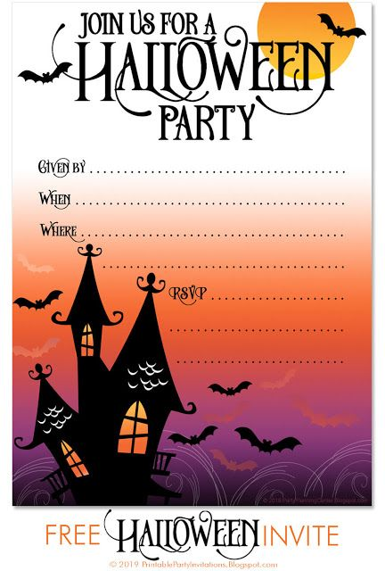 (this was a question over in answers, but frollard brilliantly suggested that it would be better as a discussion here)there's a halloween party next month for residents of my housing complex, which is for elderly and disabled pe. Free Printable Halloween Costume Party Invitations Halloweenin Free Halloween Party Invitations Free Halloween Invitation Templates Halloween Party Printables