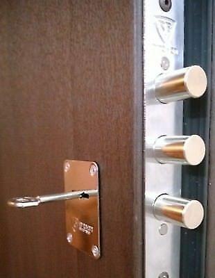 Deadbolt Door Lock Bump Pick Drill Proof High Security Mortise Wood Metal Doors Ebay Door Locks Metal Door Deadbolt