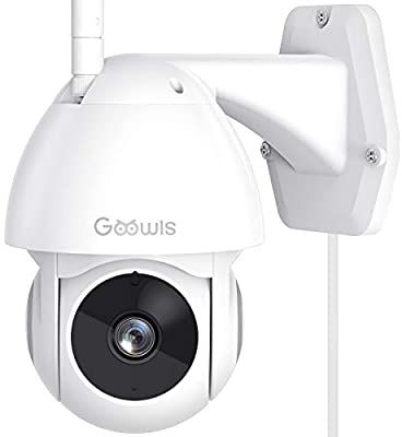 Security Camera Outdoor Goowls 1080p Pan Tilt 2 4g Wifi Home Smart Security Sur Security Cameras For Home Outdoor Security Camera Security Camera