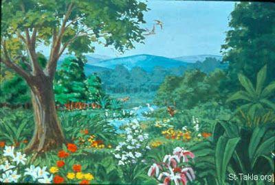 قصة نزول ادم عليه السلام الي الارض Illustration Adam And Eve Painting
