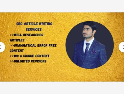Let's do unique SEO article writing in 24 hours