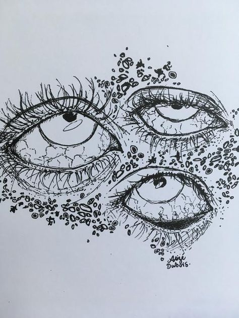 weird creepy eyes print black and white sketch of abstract etsy - abstract eye sketch Creepy Drawings, Psychedelic Art, Sketches, Line Art Drawings, Art Sketchbook, Drawings, Hippie Art, Cute Art, Art