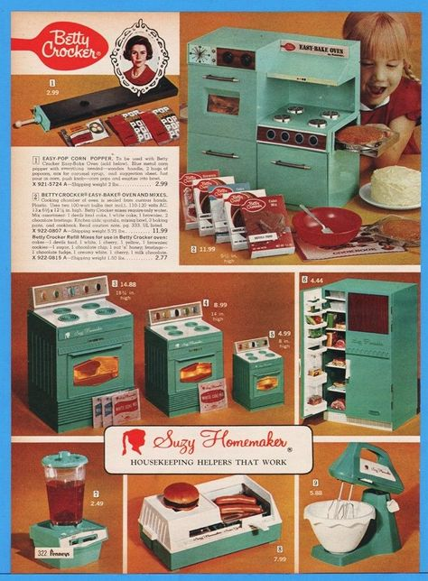 Reproduction 1960/'s Deluxe Reading SUZY HOMEMAKER Oven INSTRUCTIONS