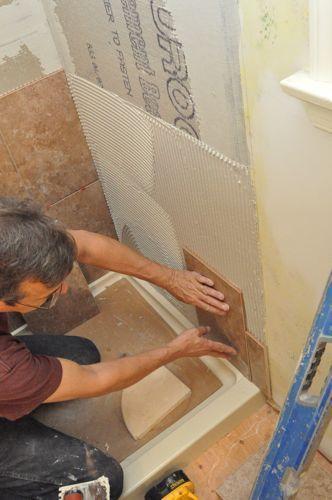 How To Tile A Shower Carrelage Salle De Bain Amenagement Salle