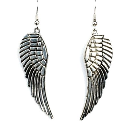 Silver Angel Wing Earrings Got It Want Must Have Pinterest Jewelry Art Deco And