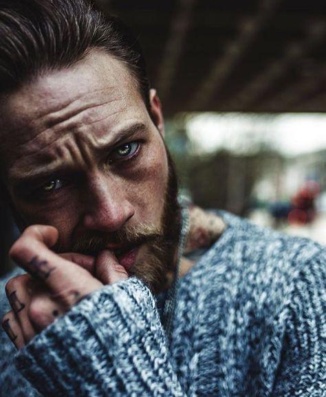 Sympathy for the devil @billyhuxley  Photo- @harisnukem -GET YOUR BRAVE ON - #men #bearded #beardoil #menwithclass #love #beard #mencare #beardman #pogonophile #inkedmodel #hot  #playboy #beardlove #inked #life #Beards #be #brave #bebrave #tattoo #swag # #amazing #beardlife #instabeard #bestoftheday #fashion #style #barber #barbershop by brave_n_bearded