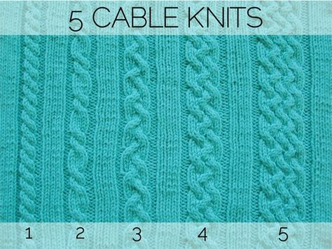 5 CABLEKNITS