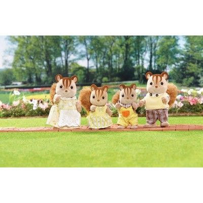 SYLVANIAN FAMILIES CALICO CRITTERS HAZELNUT CHIPMUNK FAMILY CHILD SISTER BROTHER
