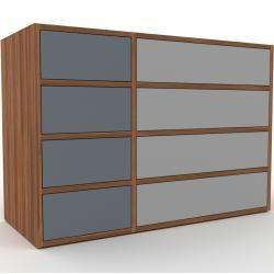 Kommode Nussbaum Design Lowboard Schubladen In Anthrazit Hochwertige Materi Furniture Design Modern Funky Furniture Plywood Furniture