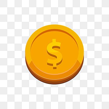 Gold Dollar 3d Coin Isometric New Creative Png And Vector With Transparent Background For Free Download Isometric Coin Design Coins